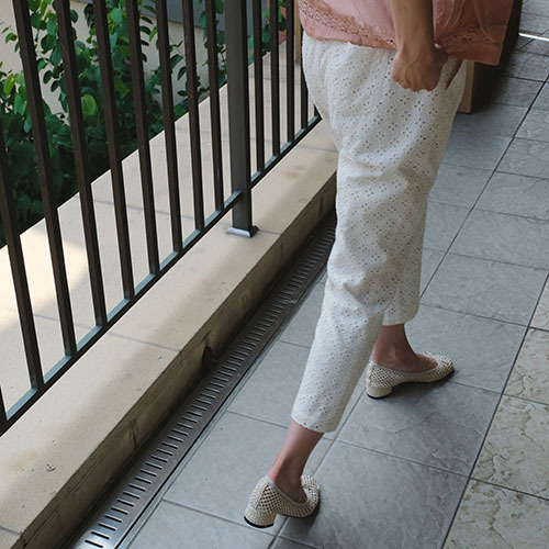TOCLASSIC#9 Eyelet Pants